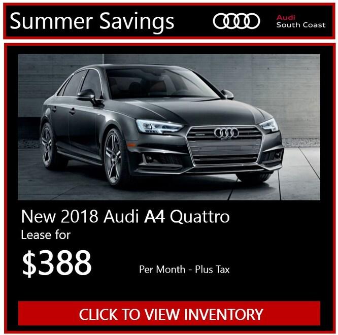 New Audi Manager's Specials & Deals In Santa Ana, CA