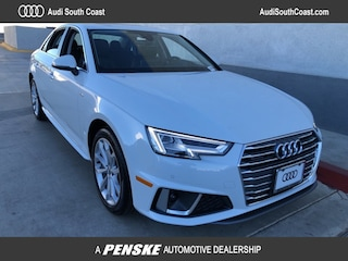 New 2019 Audi A4 2.0T Premium Plus Sedan for Sale in Santa Ana, CA