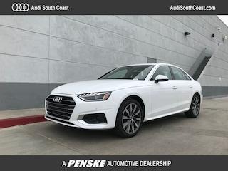 New 2020 Audi A4 40 Premium Sedan for Sale in Santa Ana, CA