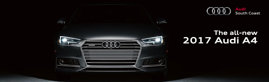 2017 audi a4 lease offer inventory in orange county at audi south coast in santa ana ca. Black Bedroom Furniture Sets. Home Design Ideas