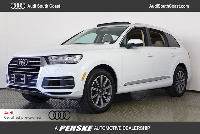 Used 2017 Audi Q7 3.0T Premium Plus SUV in Santa Ana, CA