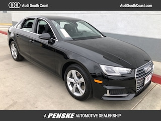 New 2019 Audi A4 2.0T Premium Sedan for Sale in Santa Ana, CA