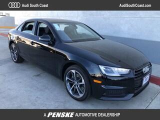 New 2019 Audi A4 2.0T Titanium Premium Sedan for Sale in Santa Ana, CA