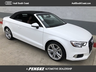 New 2018 Audi A3 2.0T Premium Cabriolet for Sale in Santa Ana, CA