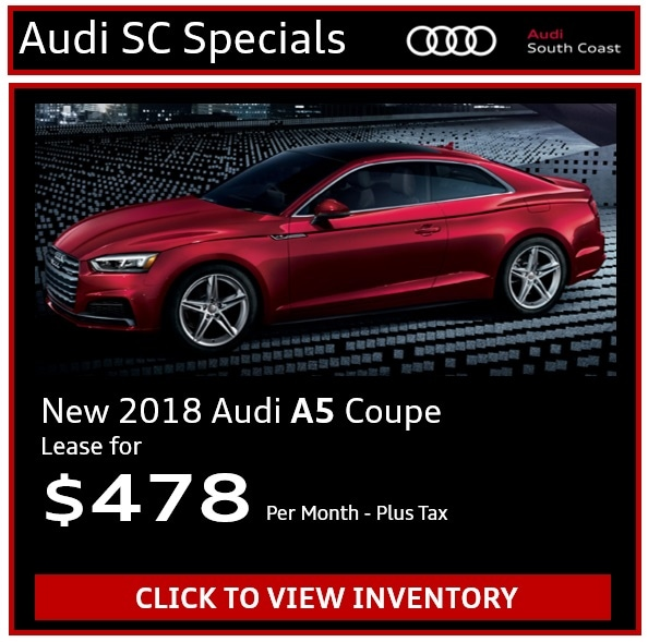Audi A5 Lease Price: New Audi Manager's Specials & Deals In Santa Ana, CA