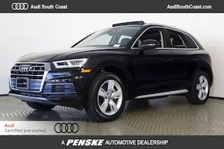 Certified Pre-Owned 2018 Audi Q5 2.0T Premium Plus SUV for Sale in Santa Ana, CA