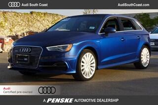 Used 2016 Audi A3 e-tron 1.4T Premium Plus Sportback in Santa Ana, CA
