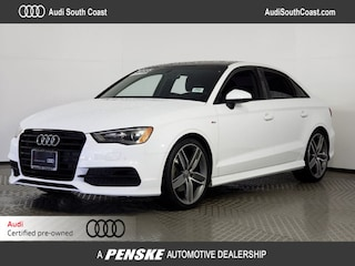 Certified Pre-Owned 2016 Audi A3 1.8T Premium Sedan for Sale in Santa Ana, CA