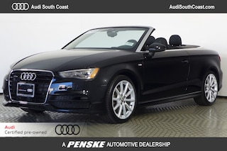 Certified Pre-Owned 2015 Audi A3 2.0T Prestige (S tronic) Cabriolet for Sale in Santa Ana, CA