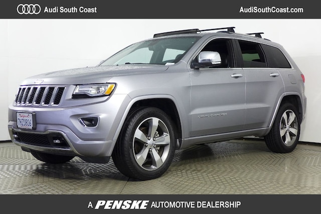 Used 2015 Jeep Grand Cherokee Overland 4x2 SUV in Santa Ana, CA