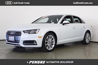 Used 2019 Audi A4 2.0T Premium Sedan in Santa Ana, CA
