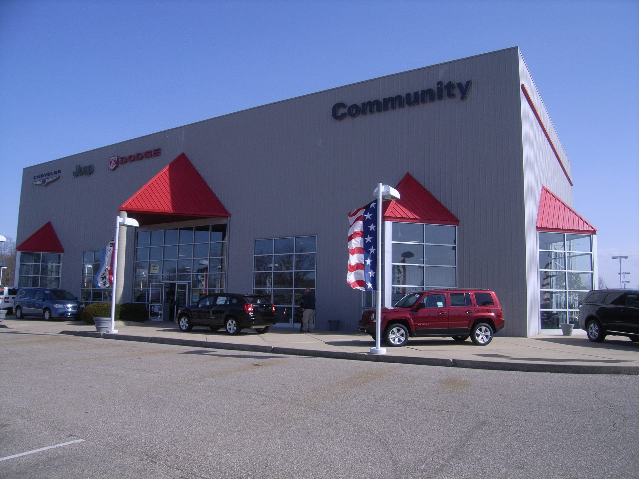 Community Chrysler Dodge Jeep New Used Car Dealer Martinsville IN - Jeep chrysler dealerships