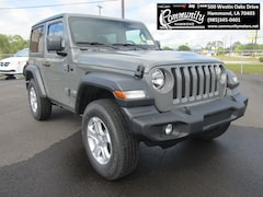 New 2020 Jeep Wrangler SPORT S 4X4 Sport Utility 1C4GJXAG4LW186028 for sale in Hammond, LA at Community Motors