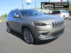 New 2020 Jeep Cherokee LATITUDE PLUS FWD Sport Utility 1C4PJLLB4LD535615 for sale in Hammond, LA at Community Motors