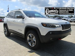 New 2019 Jeep Cherokee TRAILHAWK 4X4 Sport Utility 1C4PJMBX4KD182679 for sale in Hammond, LA at Community Motors