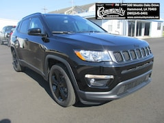 New 2020 Jeep Compass ALTITUDE FWD Sport Utility 3C4NJCBB7LT102700 for sale in Hammond, LA at Community Motors