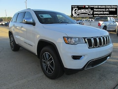 New 2018 Jeep Grand Cherokee LIMITED 4X2 Sport Utility 1C4RJEBM6JC380155 for sale in Hammond, LA at Community Motors