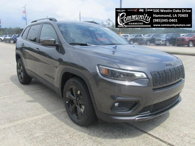 New 2019 Jeep Cherokee ALTITUDE FWD Sport Utility 1C4PJLLB4KD448330 in Hammond, LA