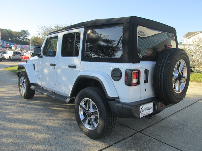 2018 Jeep Wrangler UNLIMITED SAHARA 4X4 For Sale in ...