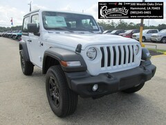 New 2020 Jeep Wrangler SPORT 4X4 Sport Utility 1C4GJXAG6LW106101 for sale in Hammond, LA at Community Motors
