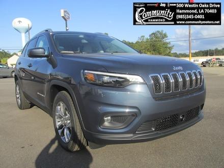 2021 Jeep Cherokee LATITUDE PLUS FWD Sport Utility 1C4PJLLB9MD116421