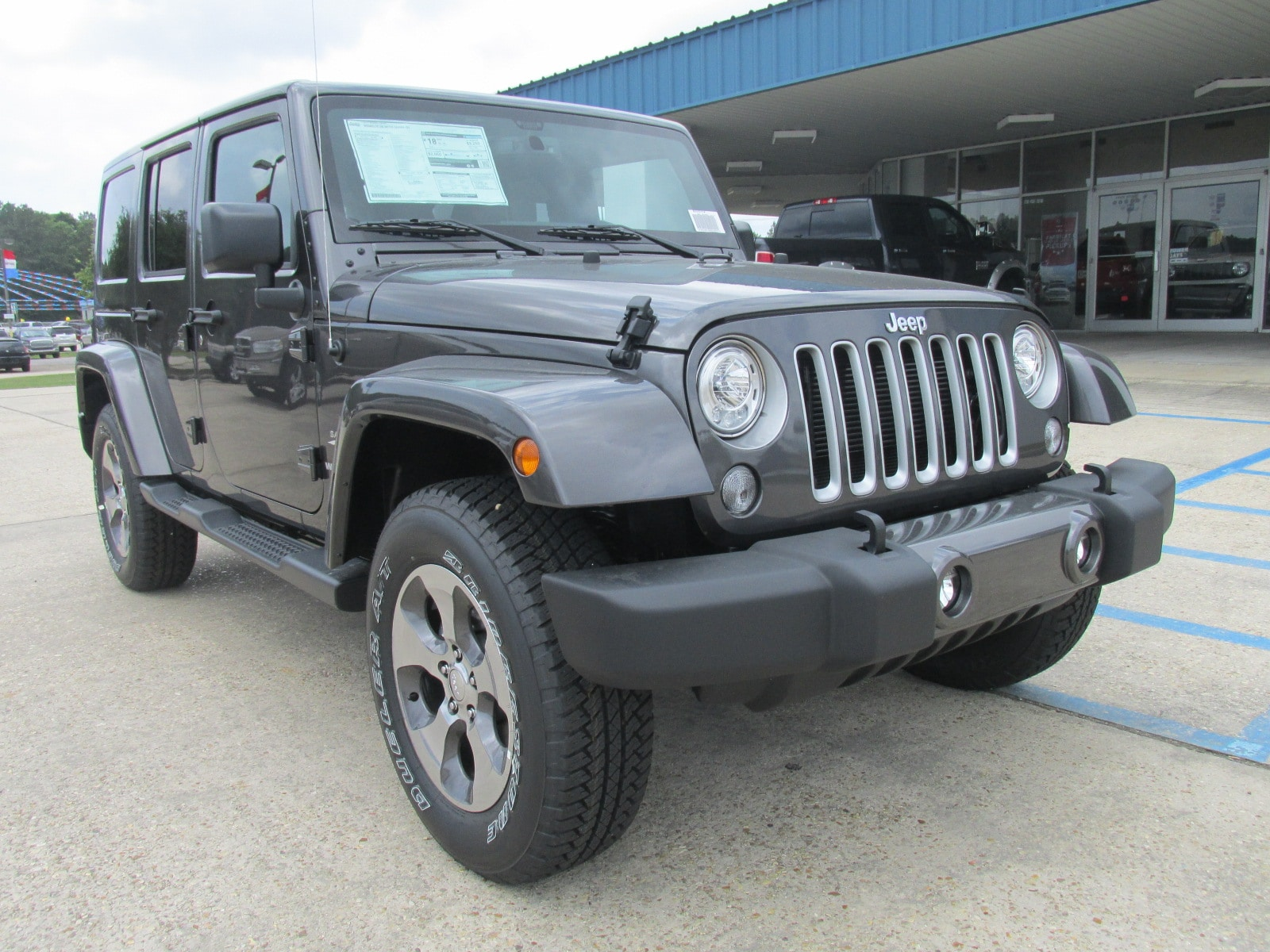 Used jeeps for sale in baton rouge la - 2017 Jeep Wrangler Unlimited Sahara 4x4 For Sale In Hammond La And Serving Baton Rouge Stock 95415