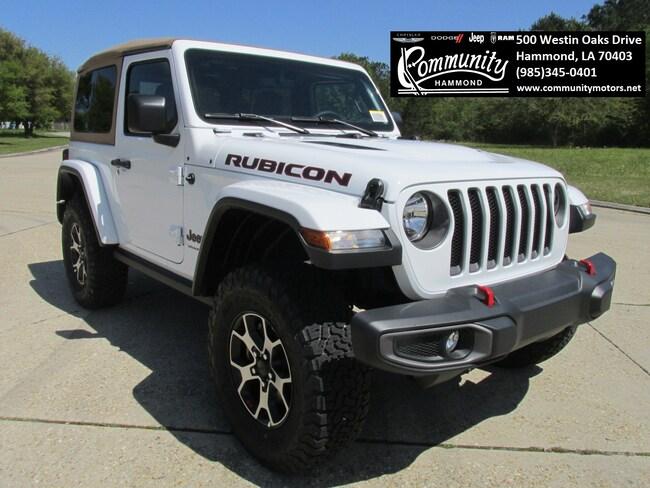 New 2019 Jeep Wrangler RUBICON 4X4 Sport Utility 1C4HJXCG8KW551536 in Hammond, LA