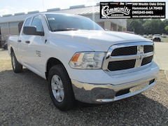New 2020 Ram 1500 Classic TRADESMAN QUAD CAB 4X2 6'4 BOX Quad Cab 1C6RR6FG5LS138489 for sale in Hammond, LA at Community Motors
