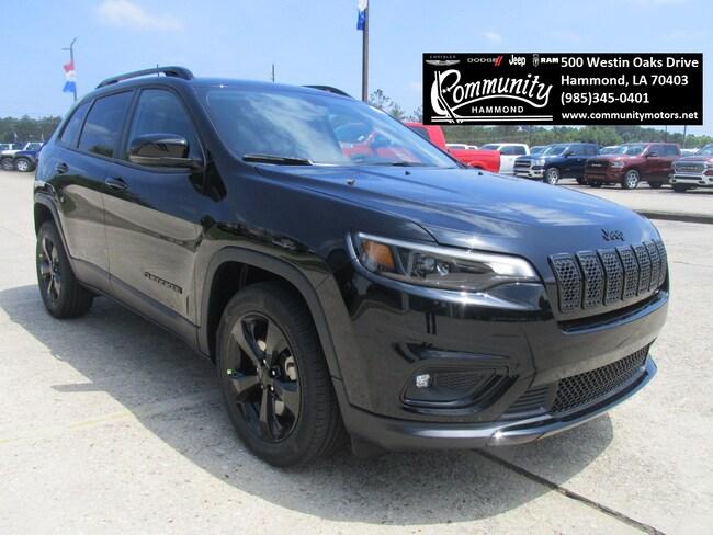 New 2019 Jeep Cherokee ALTITUDE FWD Sport Utility 1C4PJLLB4KD443659 in Hammond, LA