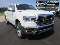 New 2020 Ram 1500 LARAMIE CREW CAB 4X4 5'7 BOX Crew Cab 1C6SRFJT2LN104868 for sale in Hammond, LA at Community Motors