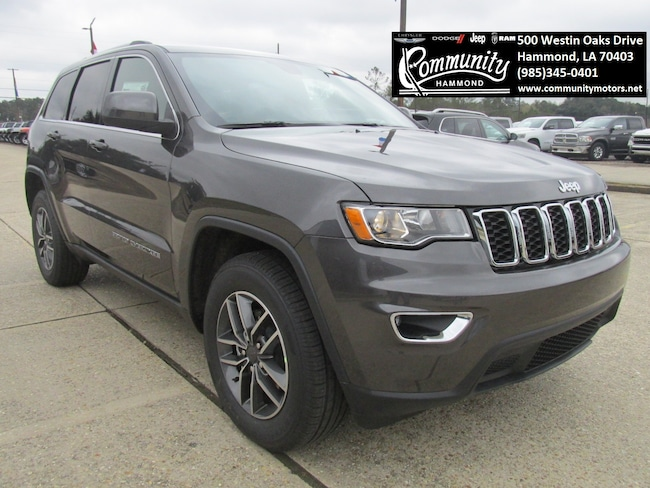 New 2019 Jeep Grand Cherokee LAREDO E 4X2 Sport Utility 1C4RJEAG6KC621483 in Hammond, LA