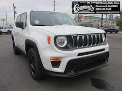 New 2020 Jeep Renegade SPORT FWD Sport Utility ZACNJAAB8LPL00714 for sale in Hammond, LA at Community Motors