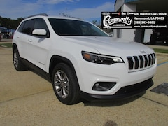 New 2019 Jeep Cherokee LATITUDE PLUS FWD Sport Utility 1C4PJLLB9KD305213 for sale in Hammond, LA at Community Motors