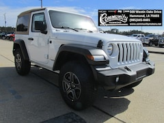 New 2019 Jeep Wrangler SPORT S 4X4 Sport Utility 1C4GJXAG0KW503978 for sale in Hammond, LA at Community Motors