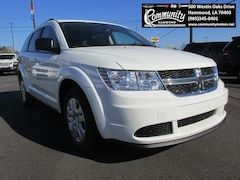 New 2020 Dodge Journey SE VALUE (FWD) Sport Utility 3C4PDCAB4LT181213 for sale in Hammond, LA at Community Motors
