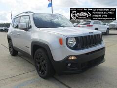 New 2018 Jeep Renegade ALTITUDE 4X2 Sport Utility ZACCJABB4JPH39740 for sale in Hammond, LA at Community Motors