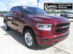 New 2019 Ram 1500 BIG HORN / LONE STAR CREW CAB 4X4 5'7 BOX Crew Cab 1C6SRFFT1KN532146 for sale in Hammond, LA at Community Motors