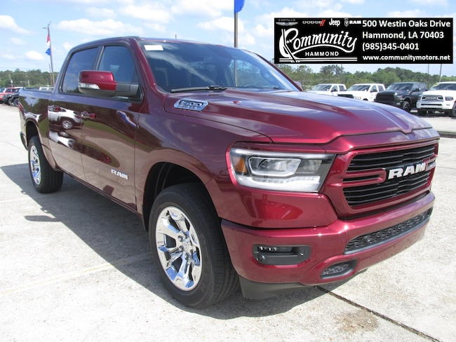 New 2019 Ram 1500 BIG HORN / LONE STAR CREW CAB 4X4 5'7 BOX Crew Cab 1C6SRFFT1KN532146 in Hammond, LA