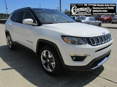 New 2019 Jeep Compass LIMITED FWD Sport Utility 3C4NJCCB5KT727335 for sale in Hammond, LA at Community Motors
