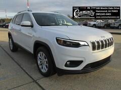 New 2019 Jeep Cherokee LATITUDE FWD Sport Utility 1C4PJLCB7KD370531 for sale in Hammond, LA at Community Motors