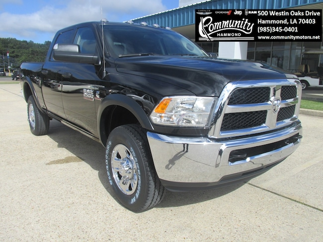 New 2018 Ram 2500 TRADESMAN CREW CAB 4X4 6'4 BOX Crew Cab 3C6UR5CL8JG327485 in Hammond, LA