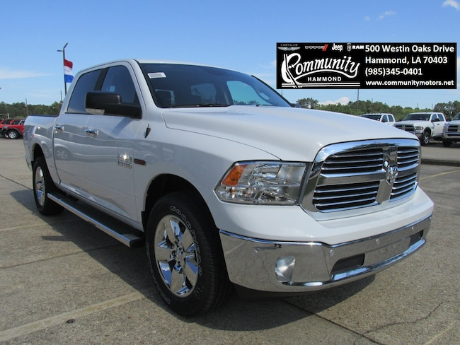New 2018 Ram 1500 BIG HORN CREW CAB 4X2 5'7 BOX Crew Cab 1C6RR6LM8JS225715 in Hammond, LA