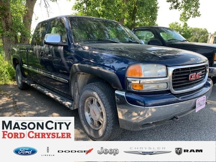 2001 GMC Sierra 1500 Ext Cab 143.5 WB 4WD SLE Extended Cab Pickup
