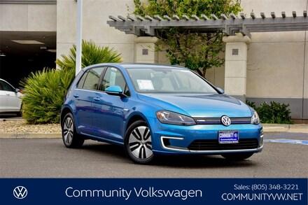 2016 Volkswagen e-Golf SEL Premium Hatchback