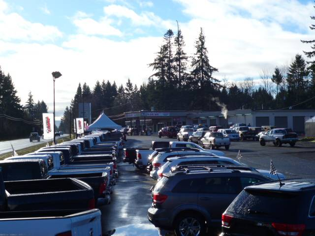 Comox Valley Dodge Lot