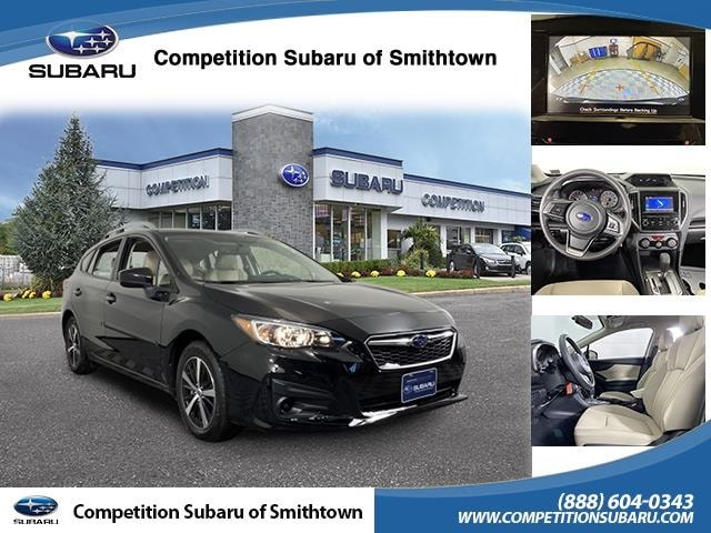 Featured Used 2019 Subaru Impreza 2.0i Premium Hatchback for Sale near Smithtown, NY
