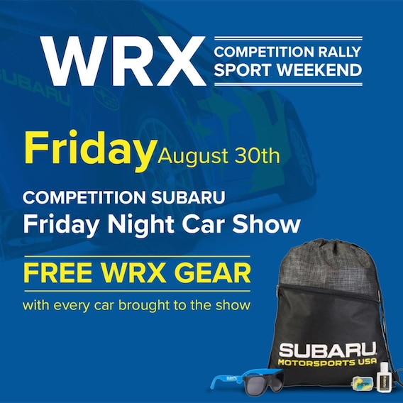 Competition Rally   Competition Subaru of Smithtown