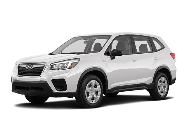 2020 Subaru Forester vs. 2020 Mitsubishi Eclipse Cross