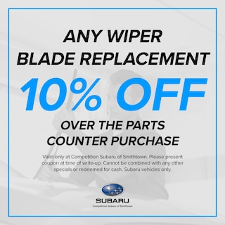 10% OFF Wiper Blade Replacement