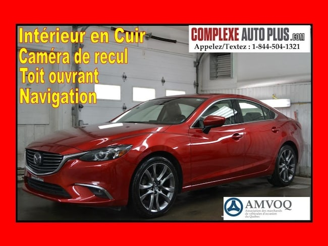 2016 Mazda Mazda6 GT 2.5L Tech Package *Navi/GPS, Cuir, Toit Sedan